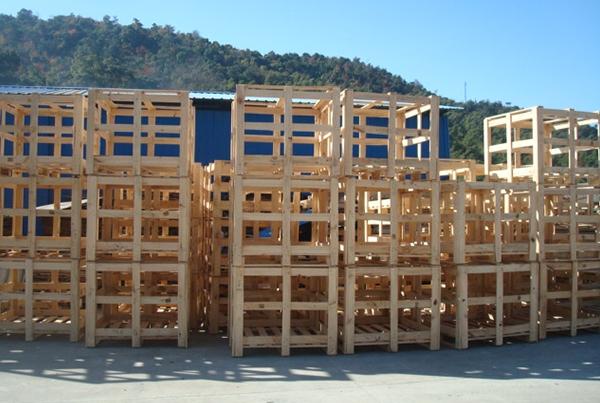 天津熏蒸实木框